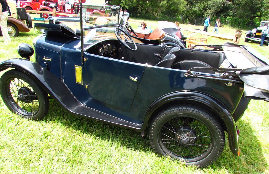 Un modelo del 1930 del Austin Seven