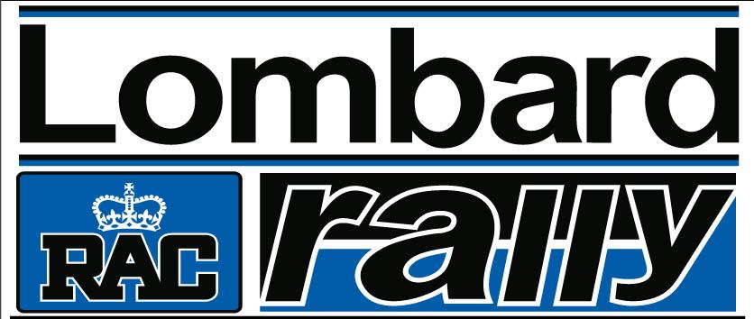 El clásico logotipo del Lombard RAC Rally