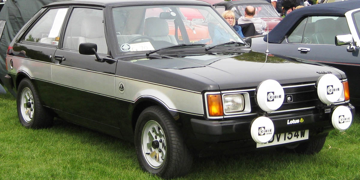 The Talbot Sunbeam Lotus street version, with its typical bicolour scheme