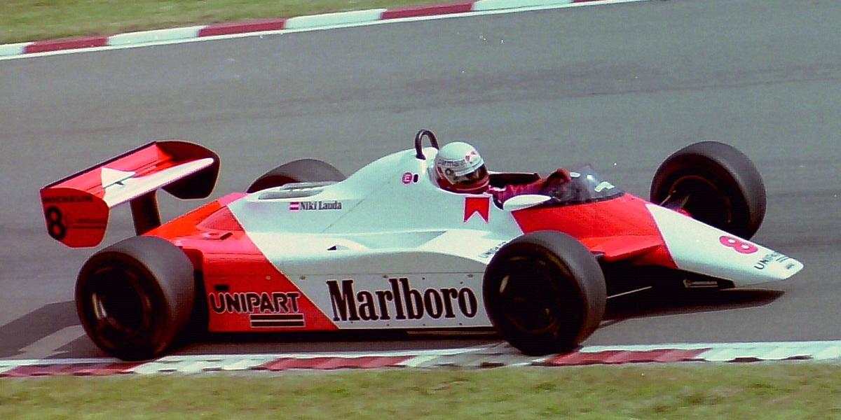 Niki Lauda volvió a la competición en 1982 con McLaren