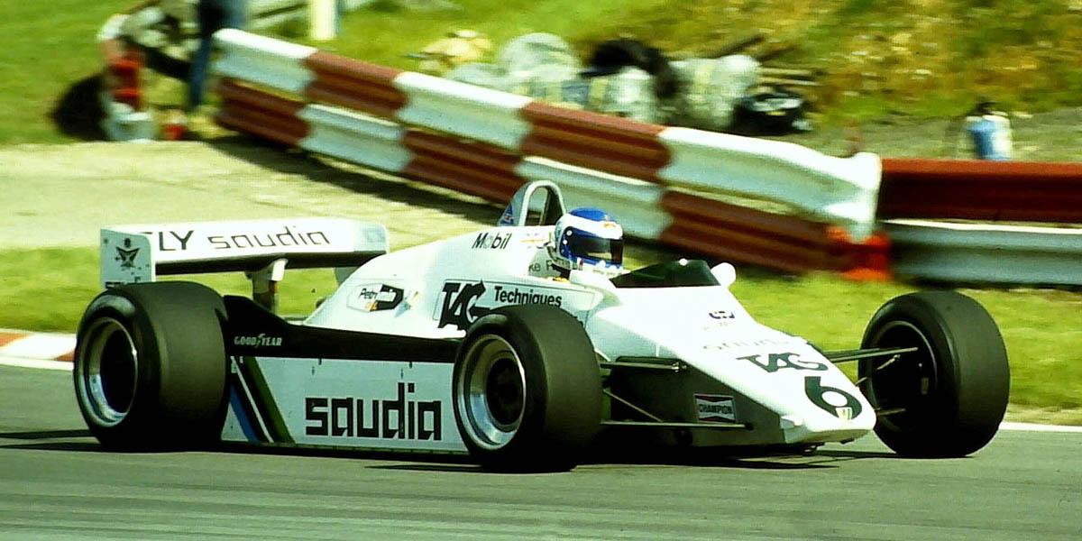 Keke Rosberg acabaría ganando el título de pilotos de 1982 con el Williams FW08 Cosworth pese a vencer sólo en un Gran Premio