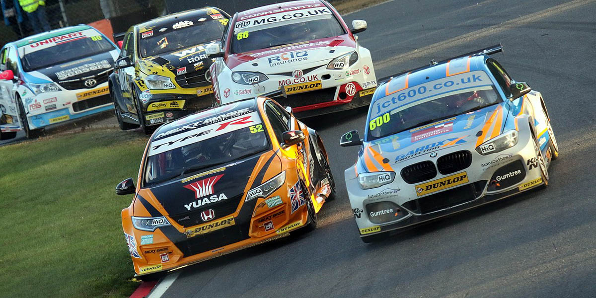 The BTCC is one of the more popular touring car series.