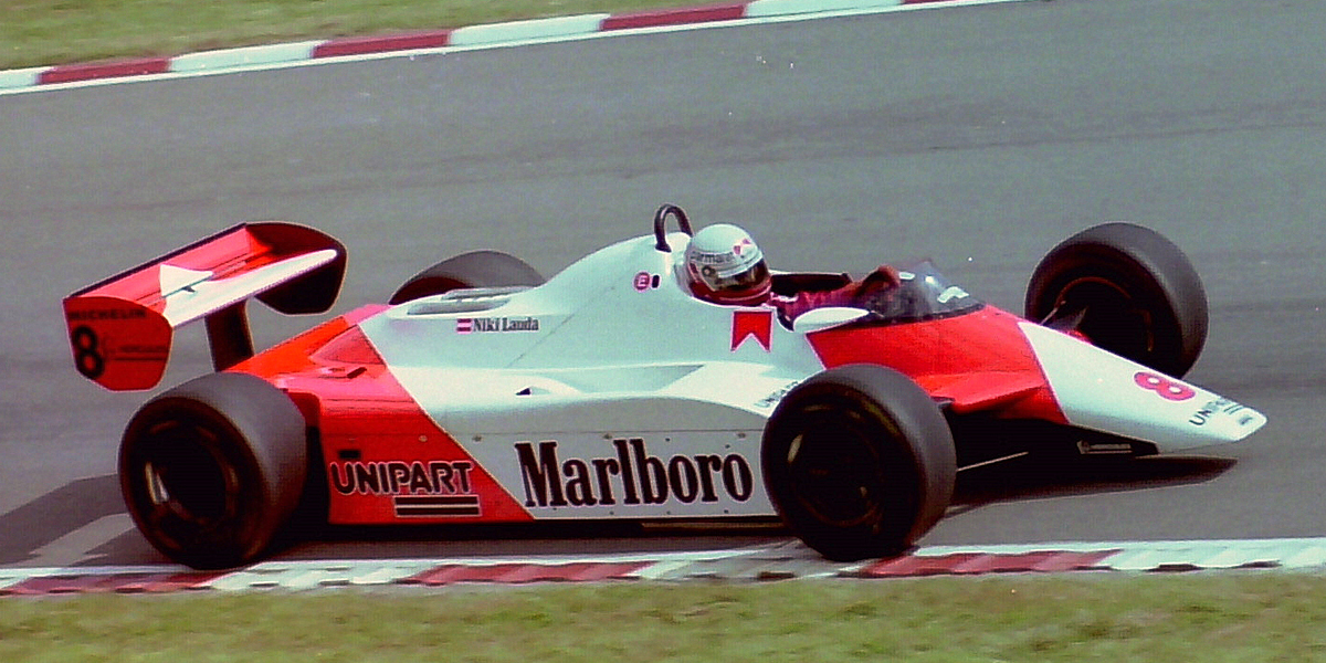 Niki Lauda was back to Grand Prix racing in 1982 with McLaren